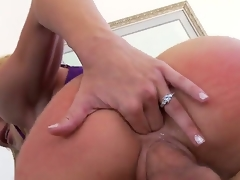 Jordan Ash plays hide the salamy with Blonde Amy Brooke in anal action