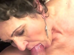 Dirty and very hot Young-old sex is one of the ideal time spending for older lady Kata who likes when lascivious fellows take up with the tongue her hairy pussy making it wet and very juicy!