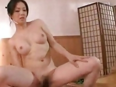 milf bad asiatisk ridning