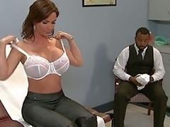 puling hardcore milf kjønn moden store pupper blowjob bryster lingerie scene