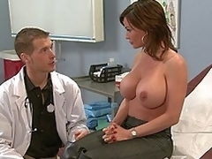 puling hardcore milf kjønn moden store pupper bryster scene uniform fitte