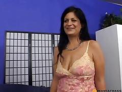 brunette moden fetish