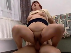 Nasty mature slut gets fucked real hard