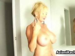 Sexy blonde babe gets blistering rubbing feature 5